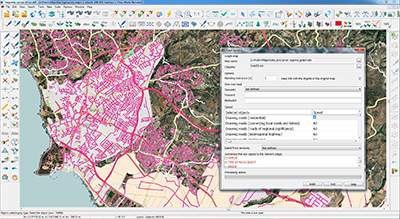 Work with spatial data from internet sources